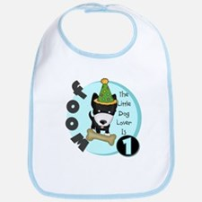 Dog Lover 1st Birthday Bib