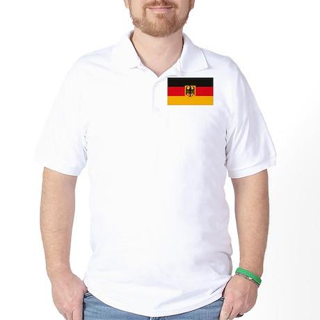 German Flag Golf Shirt