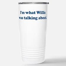 Willis Stainless Steel Travel Mug