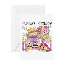 Party Princess 4th Greeting Card