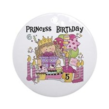 Party Princess 5th Ornament (Round)