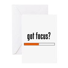 Got Focus? Greeting Cards (Pk of 20)