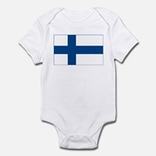 Finland Flag Infant Creeper