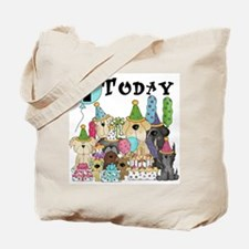 Puppies 1st Birthday Tote Bag