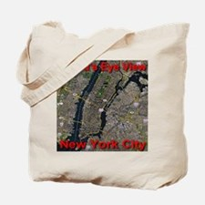 A Bird's Eye View Of New York City Tote Bag