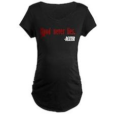 Dexter Quote Blood Never Lies T-Shirt