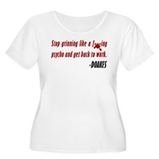 Doakes Quote Grinning Like A Psycho T-Shirt