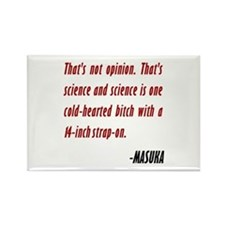 Vince Masuka Quote Science Rectangle Magnet