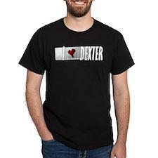 I Heart Dexter Slide T-Shirt (dark)