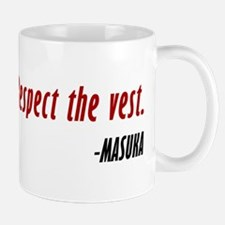 Vince Masuka Quote Respect The Vest Mug