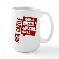 Castle Ruggedly Handsome Large Mug