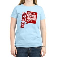 Castle Ruggedly Handsome Women's Light T-Shirt