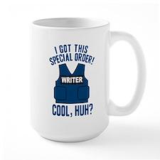 Castle Writer Vest Quote Large Mug