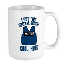 Castle Writer Vest Quote Mug