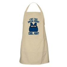 Castle Writer Vest Quote Apron
