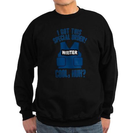 Castle Writer Vest Quote Sweatshirt (dark)
