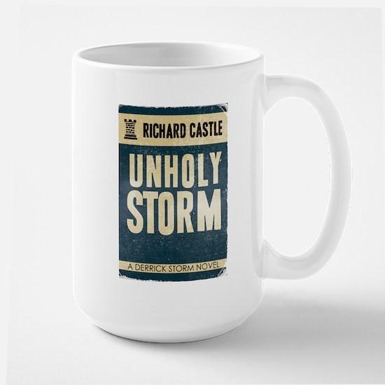 Retro Castle Unholy Storm Large Mug