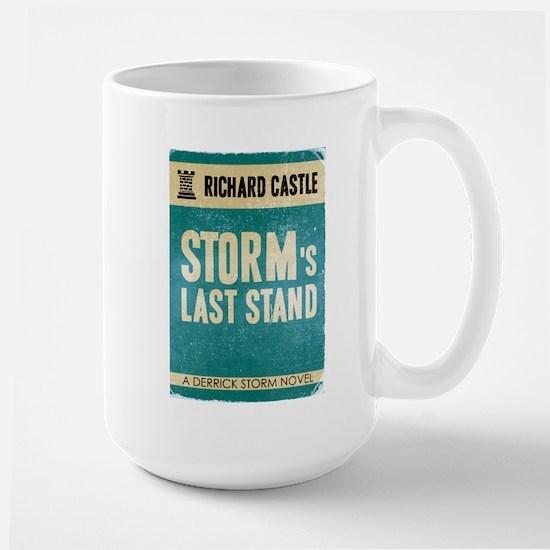 Retro Storm's Last Stand Large Mug