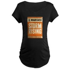 Retro Castle Storm Rising T-Shirt