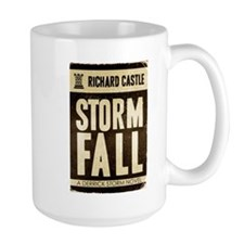Retro Castle Storm Fall Mug