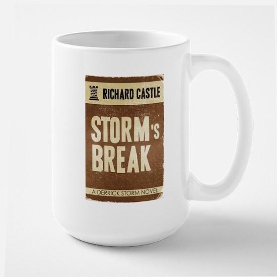 Retro Castle Storm's Break Large Mug