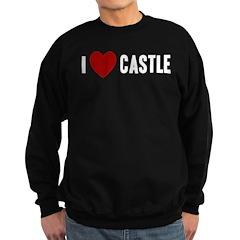I Love Castle Sweatshirt