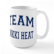 Team Nikki Heat Large Mug
