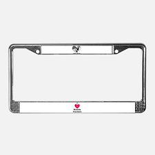SWEET DREAMS License Plate Frame
