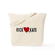 Castle Rick Heart Kate Tote Bag