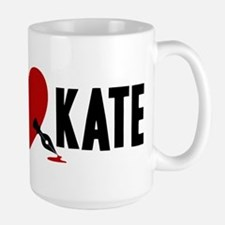 Castle Rick Heart Kate Large Mug