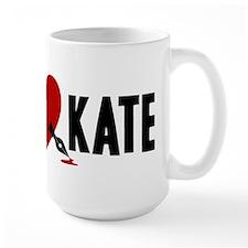 Castle Rick Heart Kate Mug