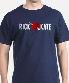 Castle Rick Heart Kate T-Shirt