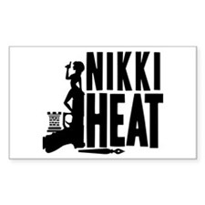 Castle Nikki Heat Sticker (Rectangle)