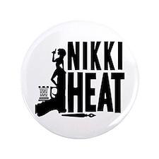 "Castle Nikki Heat 3.5"" Button"
