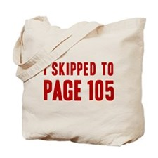 Castle Page 105 Tote Bag