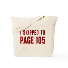 Castle Page 105 Tote Bag