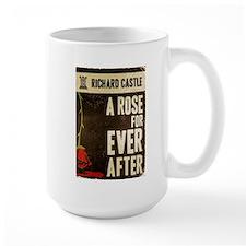 Retro Castle Rose For Everafter Large Mug