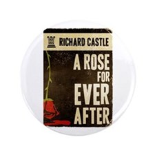 "Retro Castle Rose For Everafter 3.5"" Button"