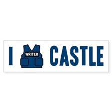 I Love/Vest Castle Bumper Sticker