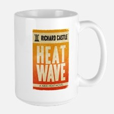 Castle Heat Wave Retro Large Mug