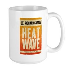 Castle Heat Wave Retro Large Mug
