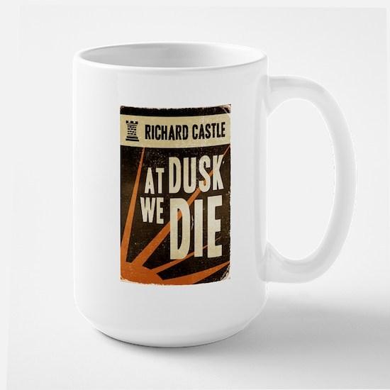 Castle At Dusk We Die Large Mug