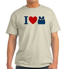 Castle I Heart Writer Vest Light T-Shirt