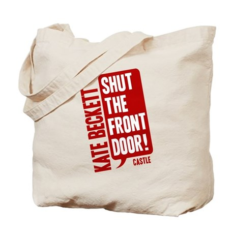 Castle Shut The Front Door Tote Bag