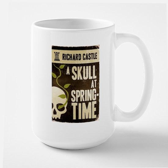 Castle A Skull At Springtime Large Mug
