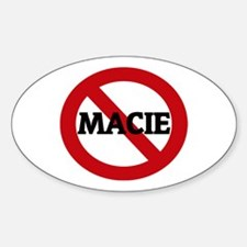 Anti-Macie Oval Decal