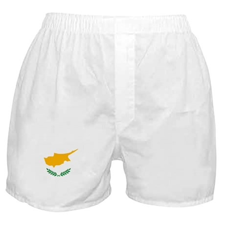 Cyprus Flag Boxer Shorts