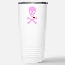 Pink Pirates Love Travel Mug