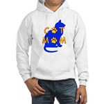 Cat Mom Hooded Sweatshirt