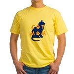 Cat Mom Yellow T-Shirt